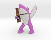 Pink Drunk Shark