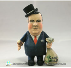 Money Bags Chris Christie