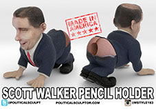 Scott Walker Pencil Holder